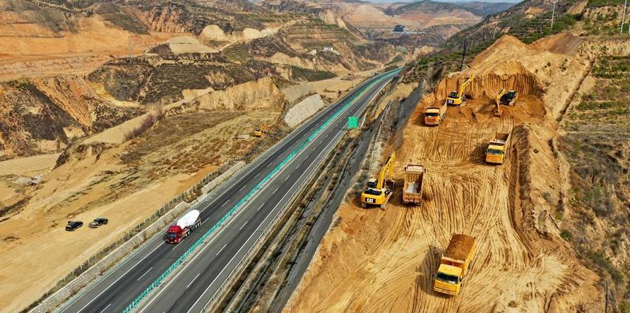 山西靜興高速公路建設有序推進