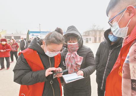 晉中:數千名志願者助力疫情防控